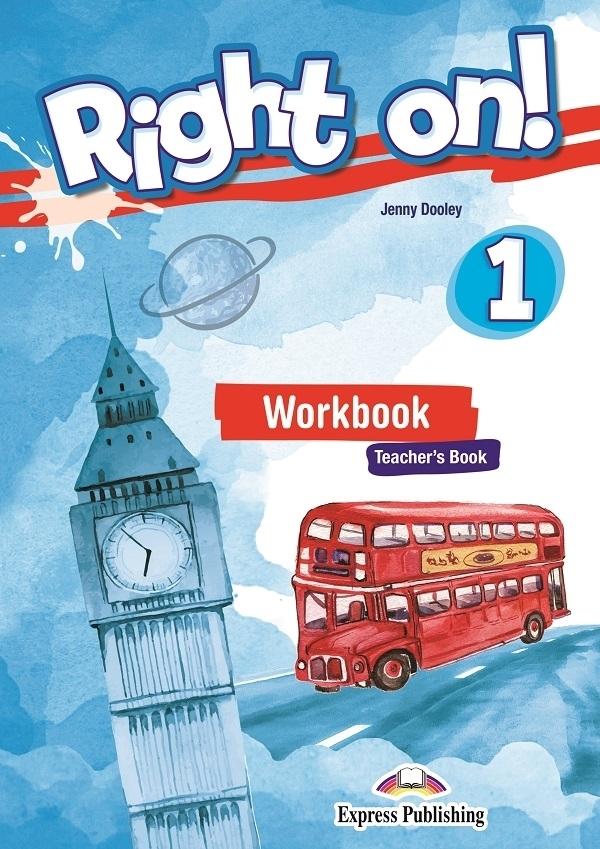 Right On! 1 Workbook Teacher's (Ćwiczenia - wersja dla nauczyciela) + kod DigiBook