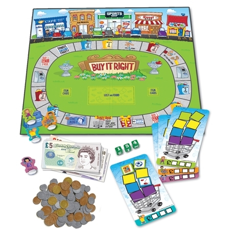 Buy It Right. Shopping Game