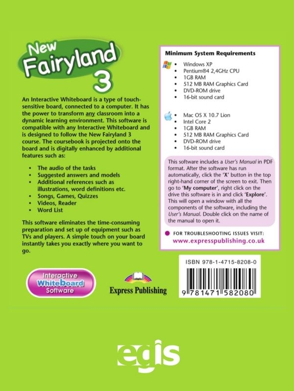 New Fairyland 3. Interactive Whiteboard Software (płyta)