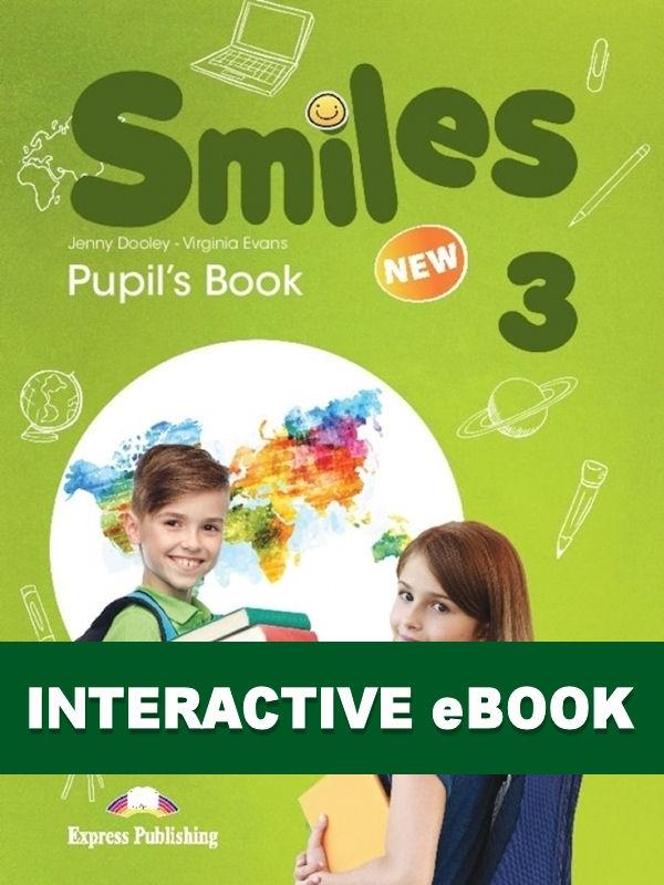 New Smiles 3. Podręcznik cyfrowy Interactive eBook (płyta)