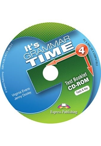 It's Grammar Time 4. Test Booklet CD-ROM