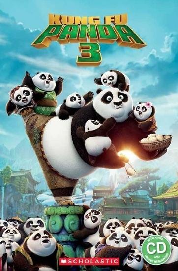 Kung Fu Panda 3. Reader + Audio CD