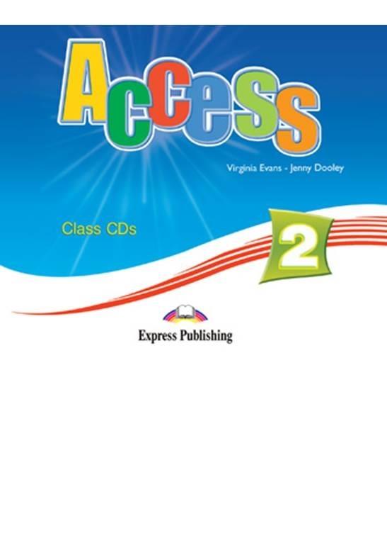 Access 2. Class Audio CDs (set of 4)