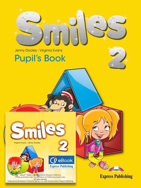 Smiles 2. Pupil's Pack (Pupil's Book + I-eBook) - edycja międzynarodowa