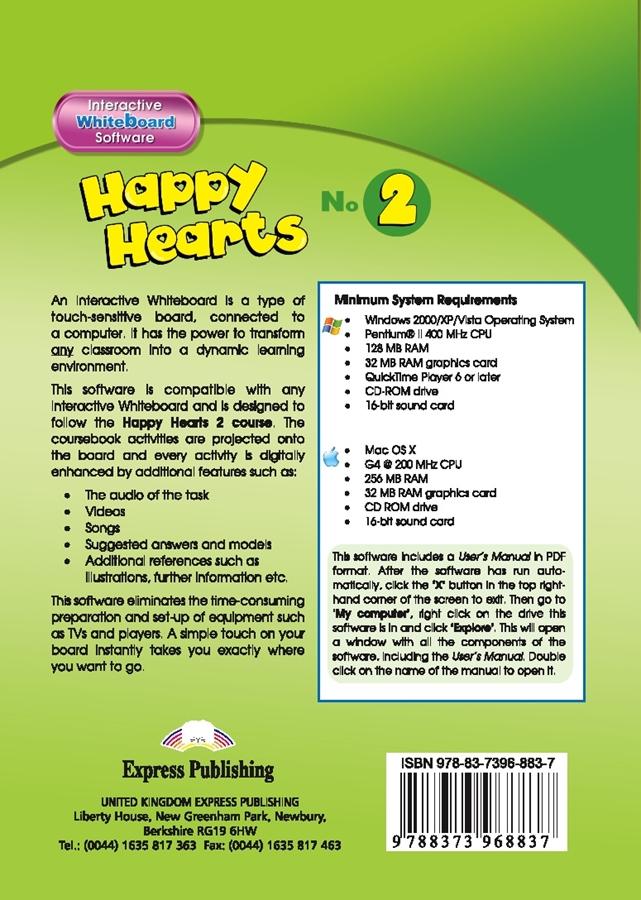 Happy Hearts 2. Interactive Whiteboard Software