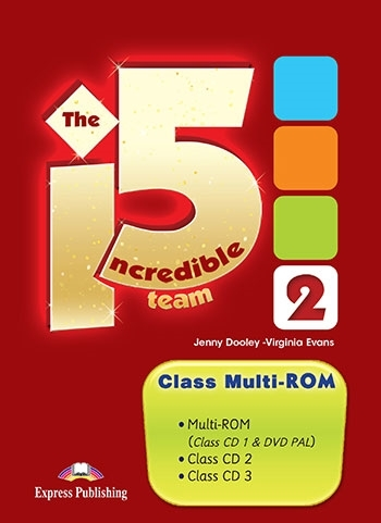 The Incredible 5 Team 2. Class Multi-ROM (Class CDs & DVD)