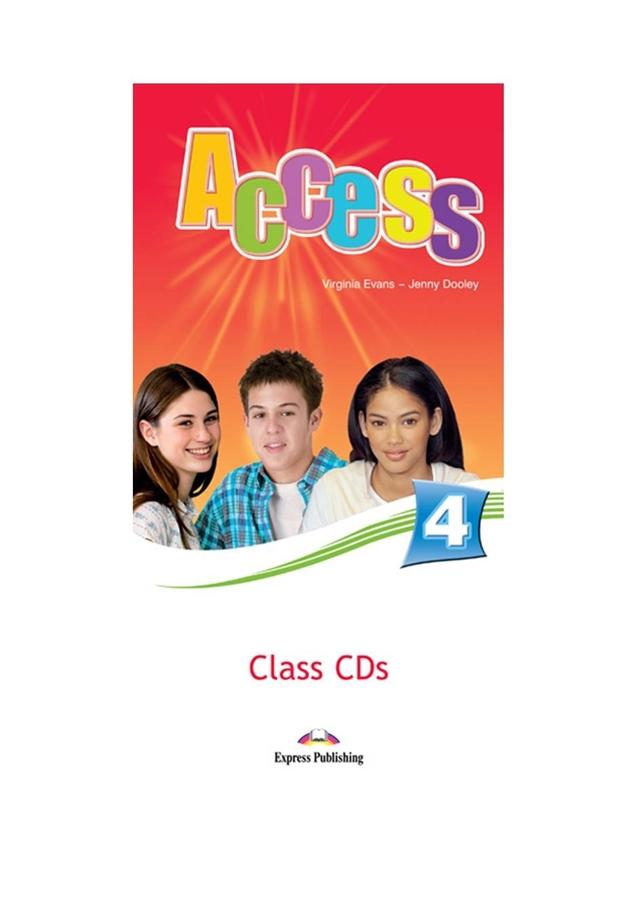 Access 4. Class Audio CD (set of 6)