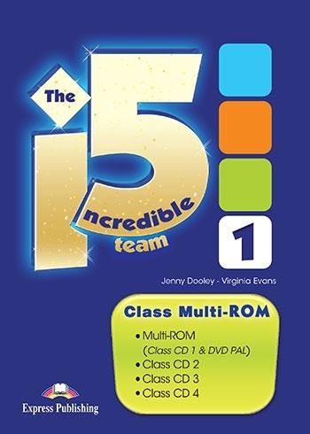 The Incredible 5 Team 1. Class Multi-ROM (Class CDs & DVD)