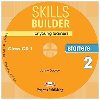 Skills Builder STARTERS 2 New Edition 2018. Class Audio CDs