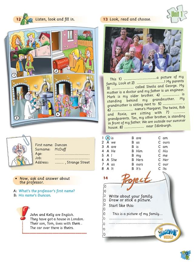 Welcome 3. Podręcznik papierowy