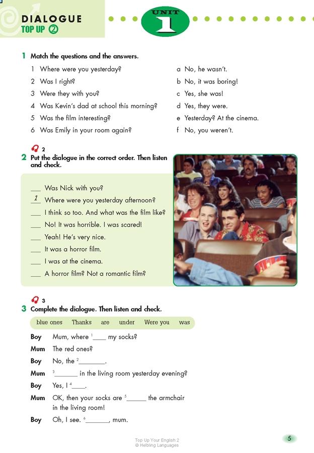 TOP UP Your English! 2 (książka + Audio CD)