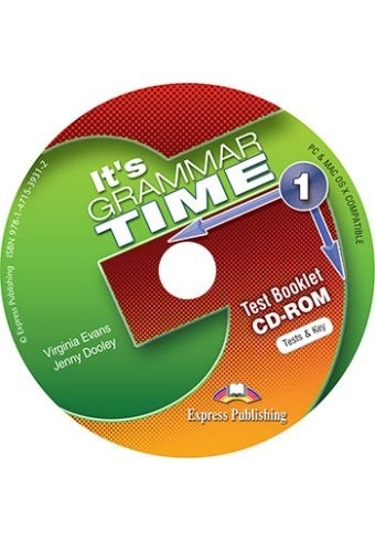 It's Grammar Time 1. Test Booklet CD-ROM