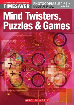 English Timesavers: Mind Twisters, Puzzles & Games