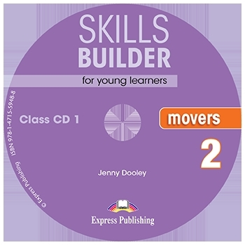 Skills Builder MOVERS 2 New Edition 2018. Class Audio CDs