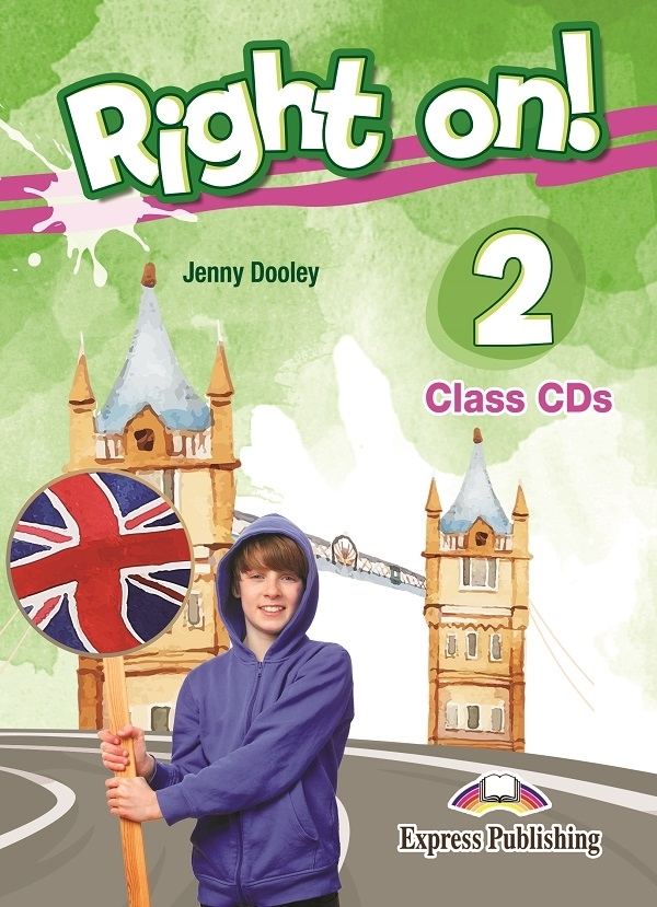Right On! 2 Class Audio CDs (set of 3)