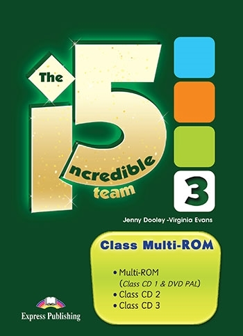 The Incredible 5 Team 3. Class Multi-ROM (Class CDs & DVD)
