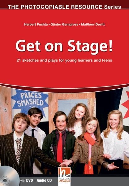 Get on Stage! (książka + Audio CD + DVD)