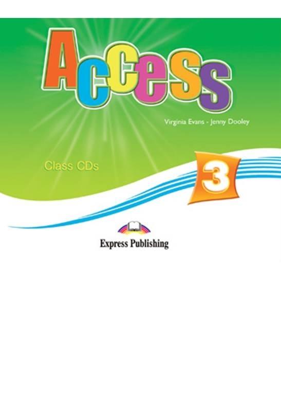 Access 3. Class Audio CDs (set of 5)
