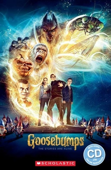Goosebumps. Reader + Audio CD (Poziom: Starter)