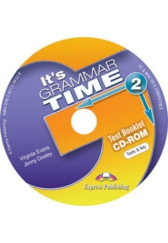 It's Grammar Time 2. Test Booklet CD-ROM