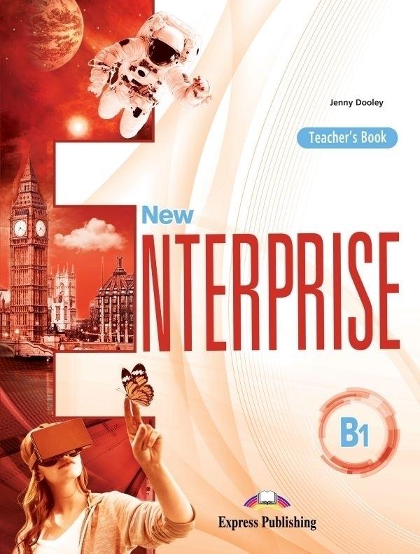 New Enterprise B1 Teacher's Book (edycja międzynarodowa) + Exam Skills Practice Key