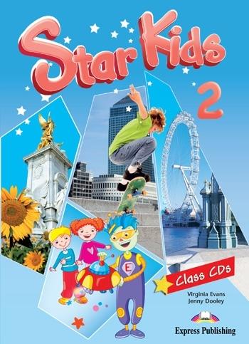 Star Kids 2. Class Audio CDs (set of 3)