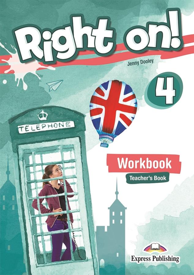 Right On! 4 Workbook Teacher's (Ćwiczenia - wersja dla nauczyciela) + kod DigiBook