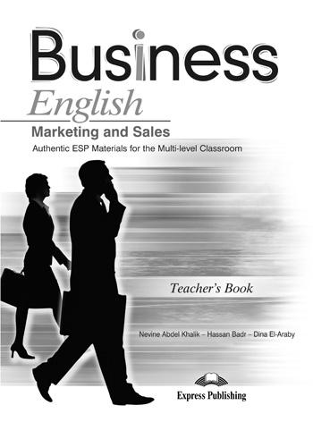 Marketing and Sales. Teacher's Book