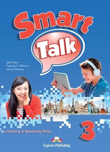 Smart Talk 3 Listening & Speaking Skills. Class Audio CDs (set of 3)