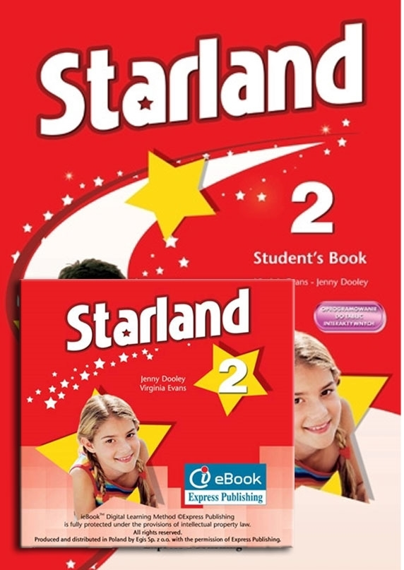 Starland 2. Student's Pack (Student's Book niewieloletni + interactive eBook)