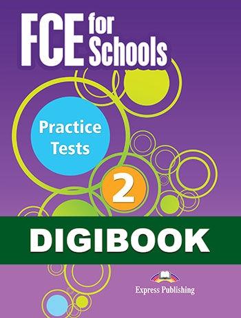 FCE for Schools 2 Practice Tests. Książka ucznia cyfrowa DigiBook (kod)