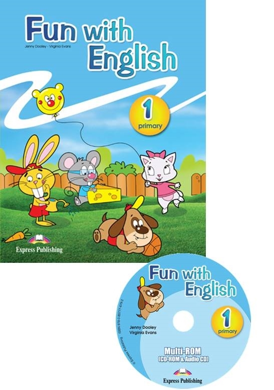 Fun with English 1. Pupil's Pack (Pupil's Book + Multi-ROM)