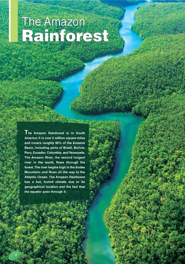 The Amazon Rainforest II. Reader + APP