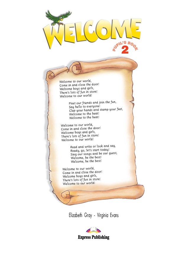Welcome 2. Pupil's Book