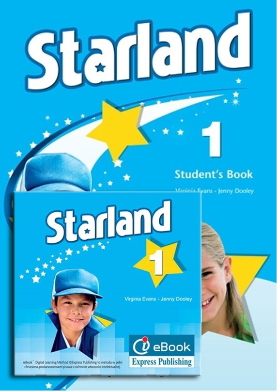 Starland 1. Student's Pack (Student's Book niewieloletni w wersji angielskiej + interactive eBook)