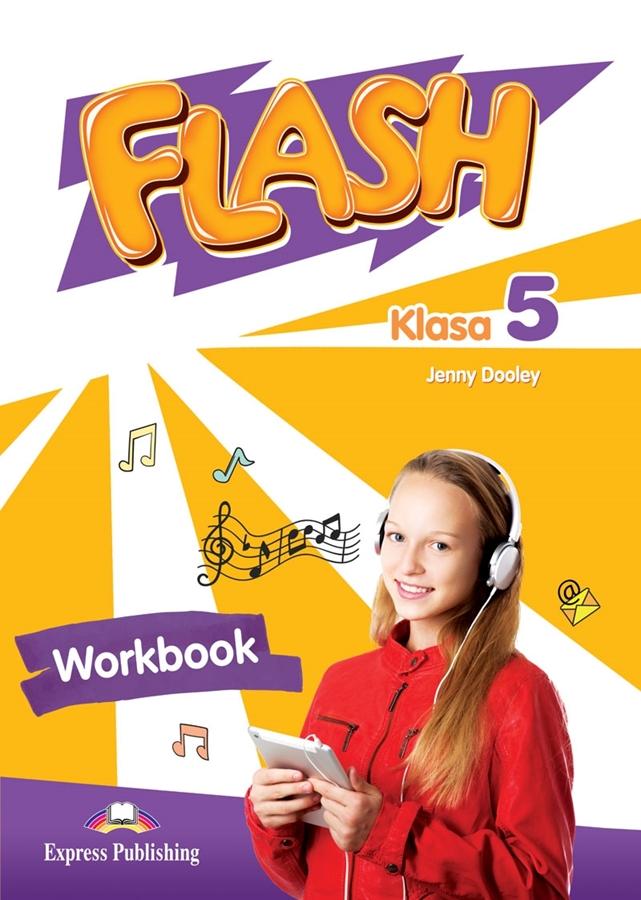 Flash Klasa 5. Workbook + DigiBook (kod)
