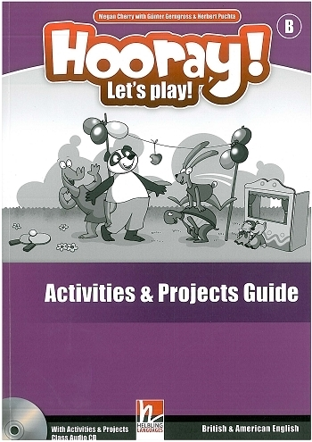 Hooray! Let's Play! (B) Activity Book Guide + CD