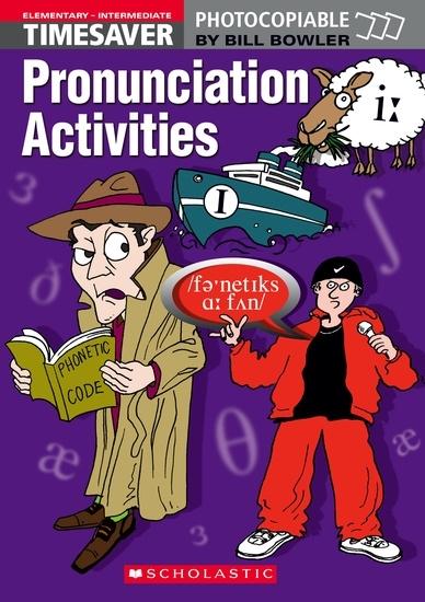 English Timesavers: Pronunciation Activities (książka + 2 płyty Audio CD + plakat)
