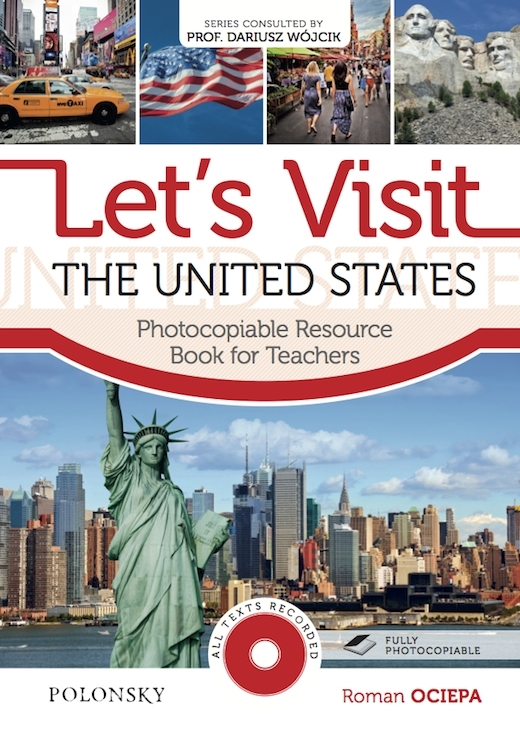 Let's Visit the United States. Photocopiable Resource Book for Teachers (książka + Audio CD)