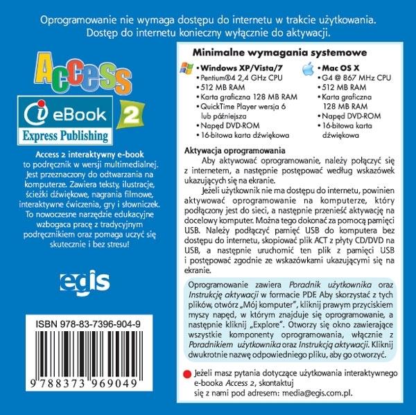 Access 2. Interactive eBook