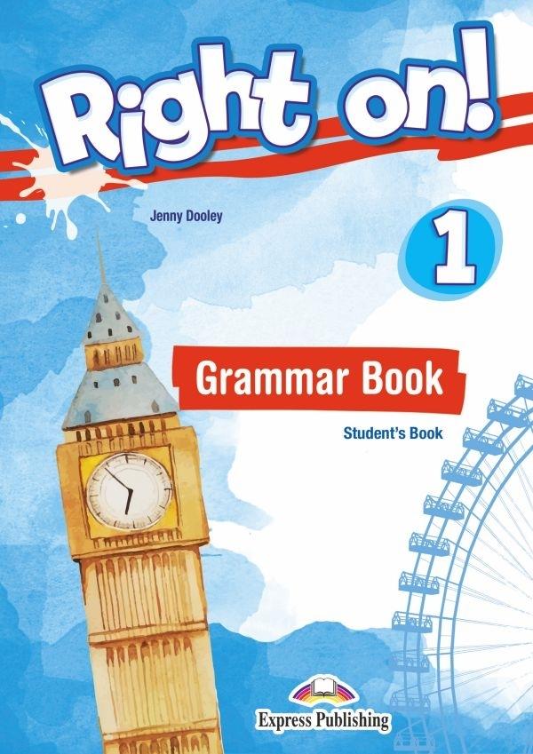 Right On! 1 Grammar Student's (Gramatyka - wersja dla ucznia) + kod DigiBook