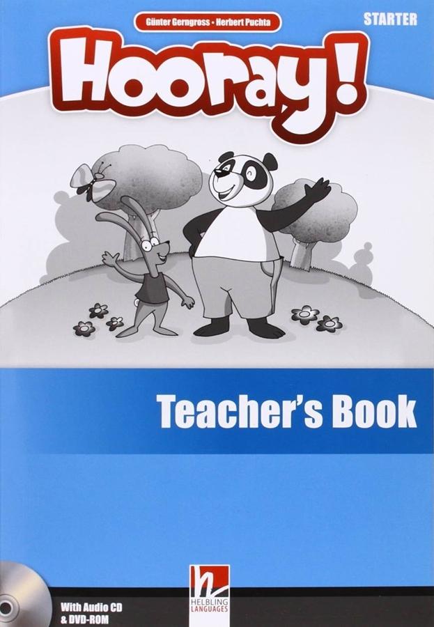 Hooray! Let's Play! Starter. Teacher's Book + Audio CD + DVD-ROM