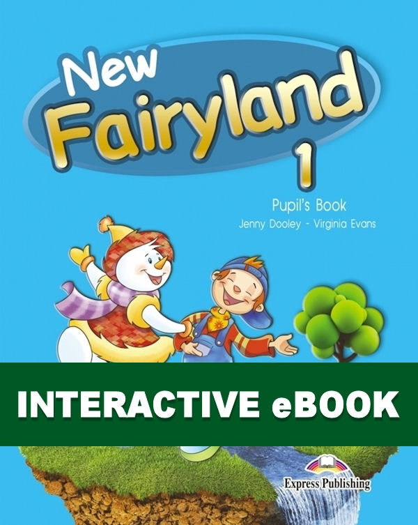 New Fairyland 1. Podręcznik cyfrowy Interactive eBook (płyta)