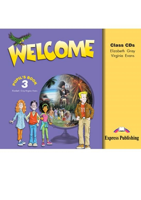 Welcome 3. Class Audio CDs (set of 3)