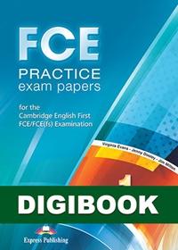 FCE Practice Exam Papers 1. Książka ucznia cyfrowa DigiBook (kod)