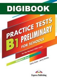 B1 Preliminary for Schools Practice Tests. Książka ucznia cyfrowa DigiBook (kod)