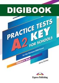 A2 Key For Schools Practice Tests. Książka ucznia cyfrowa DigiBook (kod)