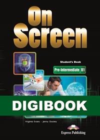 On Screen Pre-Inter. (B1). Podręcznik cyfrowy DigiBook (kod)