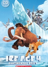 Ice Age 4: Continental Drift. Reader + Audio CD (Poziom: 1)