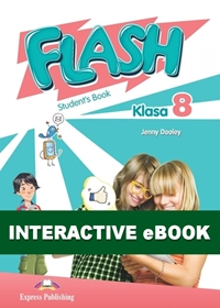Flash Klasa 8. Podręcznik cyfrowy Interactive eBook (płyta)